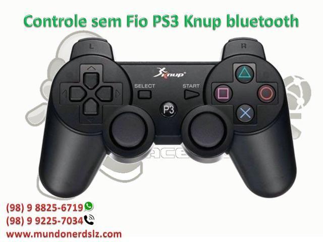 Controle sem Fio PS3 Knup bluetooth em são luis ma