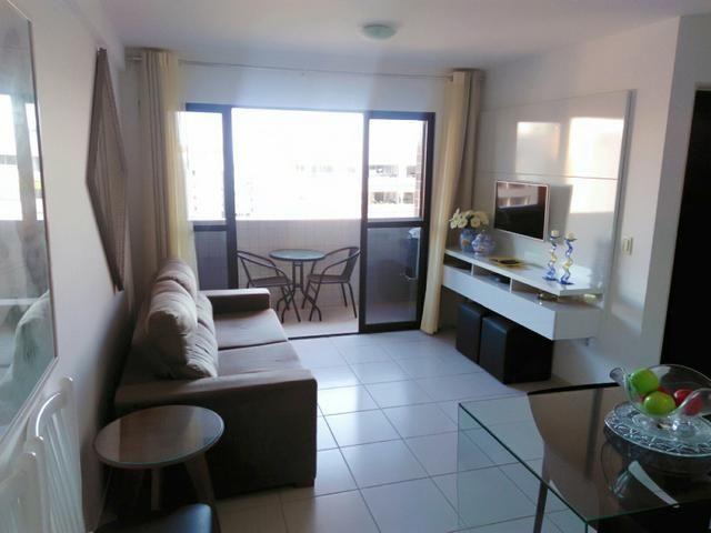 Excelente quarto e sala, com varanda,mobiliado na ponta verde