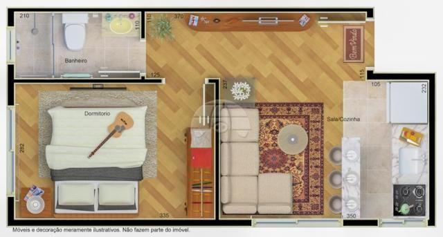 Apartamento à venda com 1 dormitórios em São francisco, Curitiba cod:152568 - Foto 5