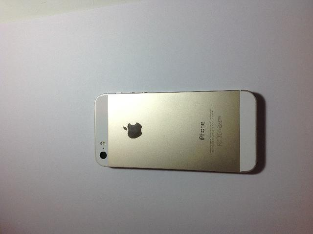 Vendo iPhone 5s dourado - Foto 5