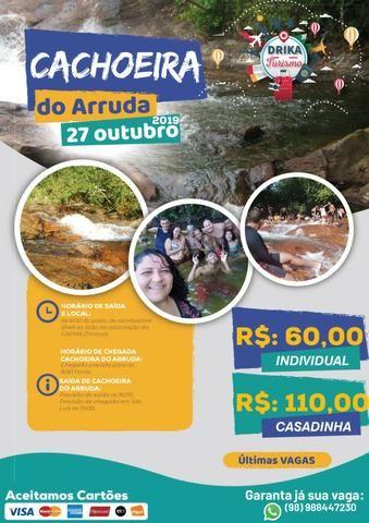 Passeio - Viagem Lagoa do Cassó, Santo Amaro, Belágua, Cachoeira do Arruda - Foto 3
