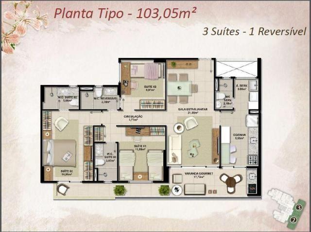 Apartamento Novo na melhor Localização do Cambeba - Foto 7