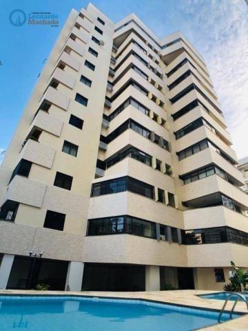 Apartamento Cobertura com 4 dormitórios à venda, 346 m² por R$ 2.500.000 - Meireles - Fort