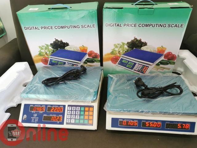 Balança comercial 40kg profissional com cálculo de preço tara e outros - Foto 2
