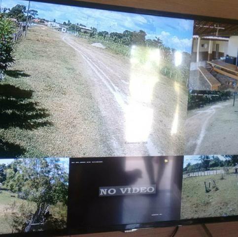 Câmeras de segurança, concertinas, dividimos em boleto sem consulta ao spc - Foto 2