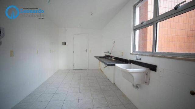 Apartamento com 3 dormitórios à venda, 99 m² por R$ 350.000 - Cocó - Fortaleza/CE - Foto 4
