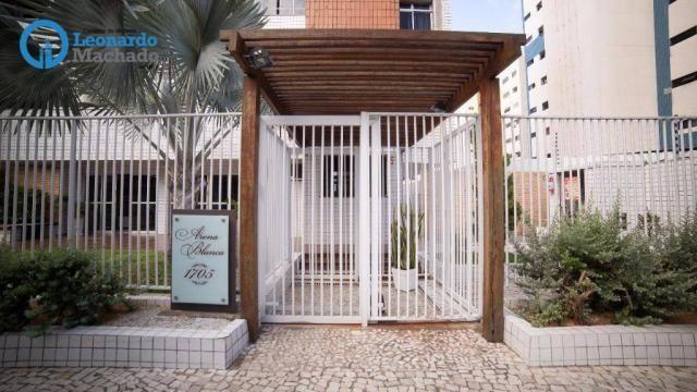 Apartamento com 3 dormitórios à venda, 99 m² por R$ 350.000 - Cocó - Fortaleza/CE - Foto 19