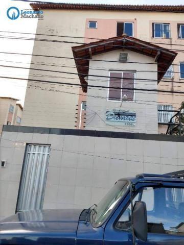 Apartamento com 2 dormitórios à venda, 50 m² por R$ 139.000 - Damas - Fortaleza/CE