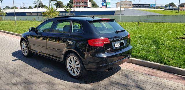 Audi a3 2.0t sportback tfsi s-tronic impecável com teto - Foto 9