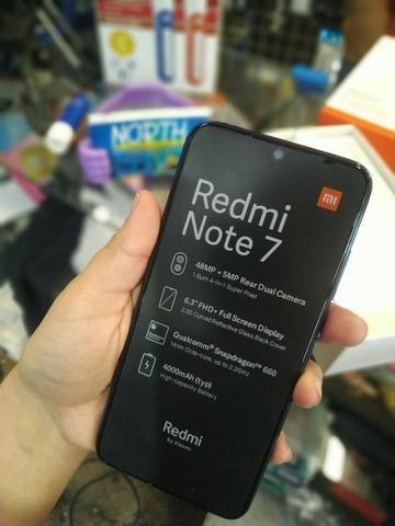 Versão Global Xiaomi Redmi Note 7 Azul/preto-(Loja na Cohab)-Adquira Já - Foto 4