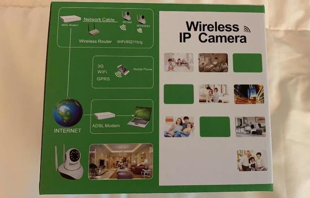 Câmera De Segurança Ip Yandog HD 720p Sem Fio Wifi - Foto 4