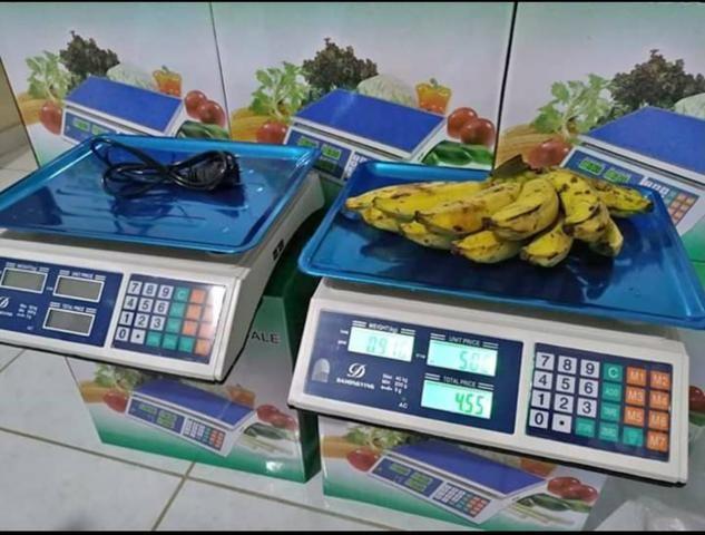 Balança profissional comercial 40kg Recarregável - Foto 2