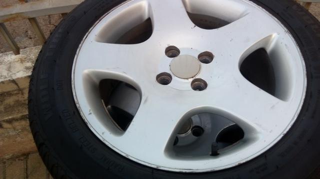 Rodas com pneus aro 16 - Foto 2