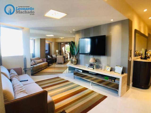 Apartamento Cobertura com 4 dormitórios à venda, 346 m² por R$ 2.500.000 - Meireles - Fort - Foto 17