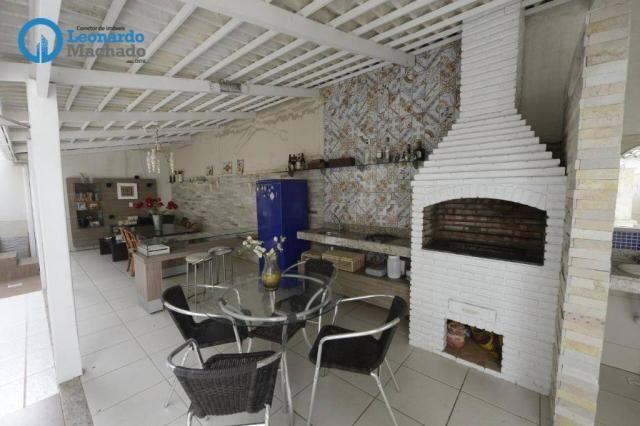 Casa com 4 dormitórios à venda, 335 m² por R$ 1.390.000 - Cambeba - Fortaleza/CE - Foto 13