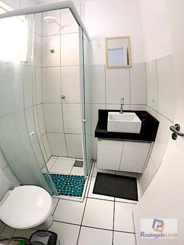 Apartamento com 2 dormitórios à venda, 52 m² por r$ 180.000 - engenheiro luciano cavalcant - Foto 4