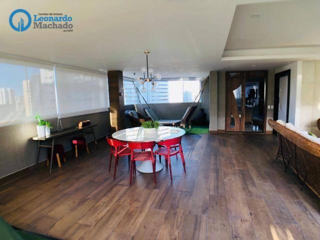 Apartamento Cobertura com 4 dormitórios à venda, 346 m² por R$ 2.500.000 - Meireles - Fort - Foto 12