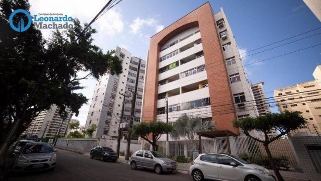 Apartamento com 3 dormitórios à venda, 99 m² por R$ 350.000 - Cocó - Fortaleza/CE - Foto 18