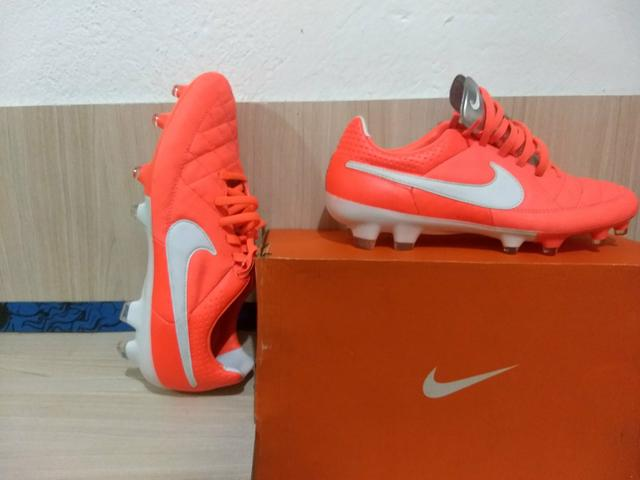 63822db7bcf25 Chuteira de Campos l Nike Tiempo Legacy FG profissional! - Roupas e ...