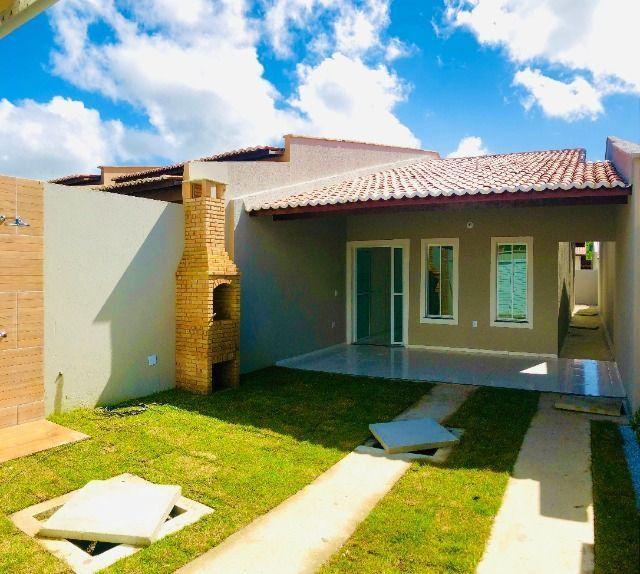 JP linda casa com 2 quartos 2 banheiros otimo acabamento com doc. gratis - Foto 16