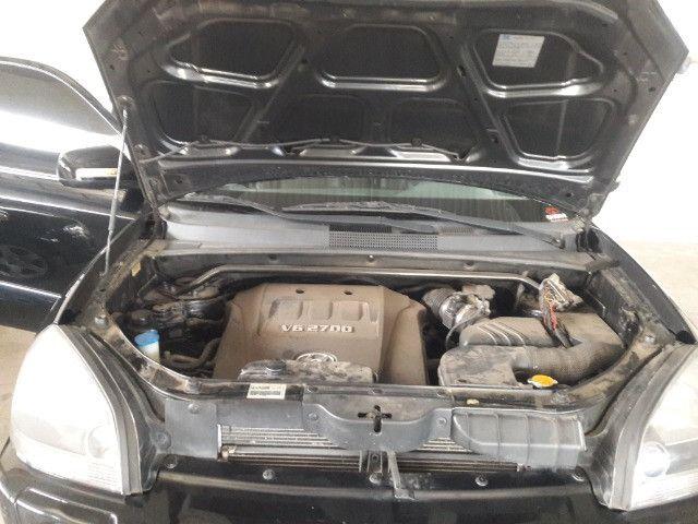 Hyundai tucson gls 2.7 v6 4x4 ano 2007 -automatica - valor: 29.999,99 - Foto 8