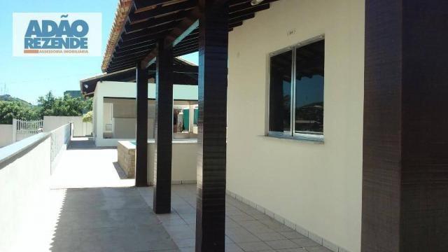 Cobertura residencial à venda, Baixo Grande, São Pedro da Aldeia. - Foto 11