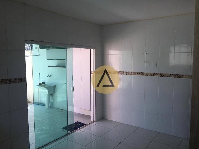 Atlântica Imóveis tem maravilhosa casa para venda no bairro Village em Rio das Ostras/RJ - Foto 19