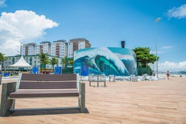 Apartamento com 1 dormitório à venda, 44 m² por r$ 0 - boqueirão - praia grande/sp - Foto 14