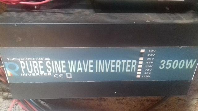 Inversor de onda senoidal pura reliable
