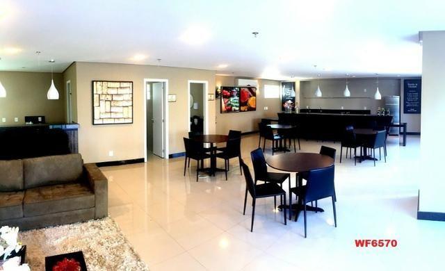 Edifício Los Angeles, apartamento duplex com 3 suítes, porteira fechada, mobiliado - Foto 12