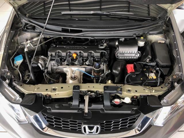 Civic LXR 2015, automático, 32.000km, pneus novos, revisões na Honda - Foto 9