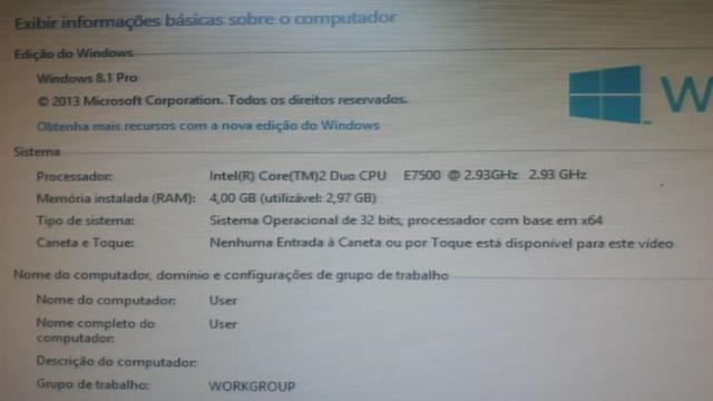 Computador - CPU de Mesa core 2 Dua 2.93 c/ 04 GB de Memoria - Foto 2