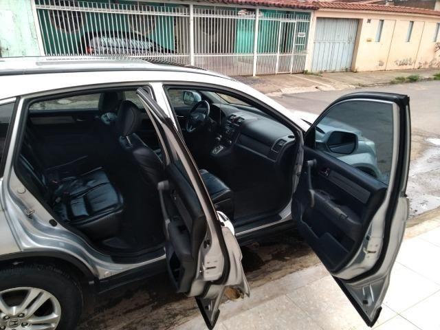 Honda CRV exl 2.0 4x4 impecável !! Mais top da categoria. Couro + teto solar - Foto 10
