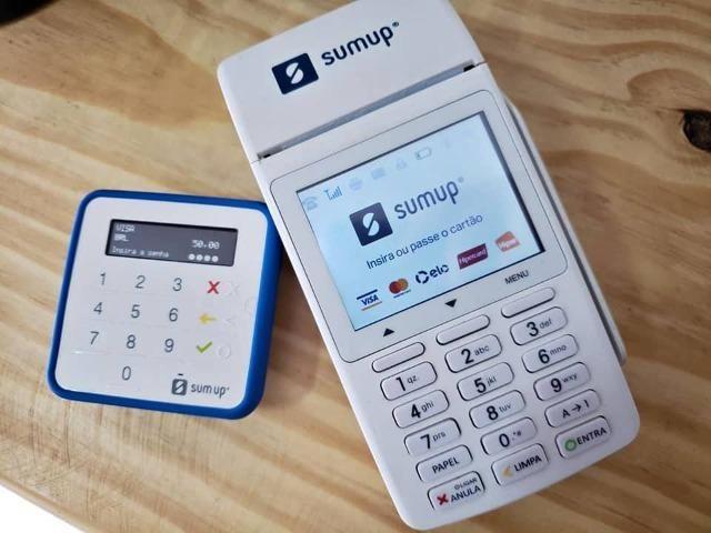 Maquinetas de Cartão Sumup 1% de Taxa