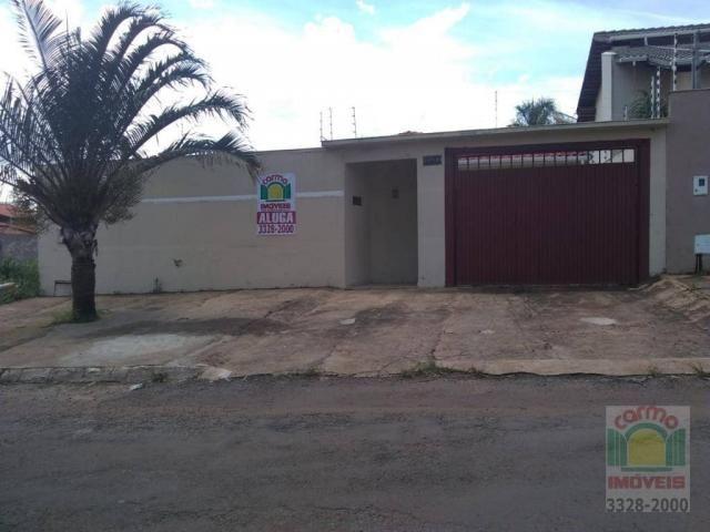 Casa com 3 dormitórios para alugar, 132 m² por R$ 1.600,00/mês - Parque Brasília 2ª Etapa