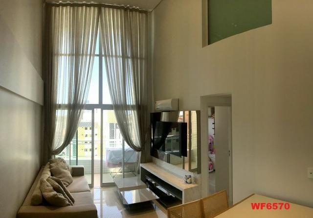 Edifício Los Angeles, apartamento duplex com 3 suítes, porteira fechada, mobiliado - Foto 2