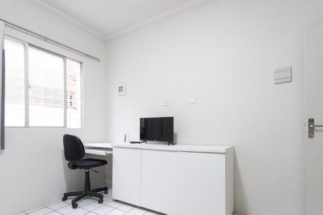 Apartamento 03B, mobiliado, sala e quarto, com WI-FI, pertinho do Carrefour - lindo - Foto 12