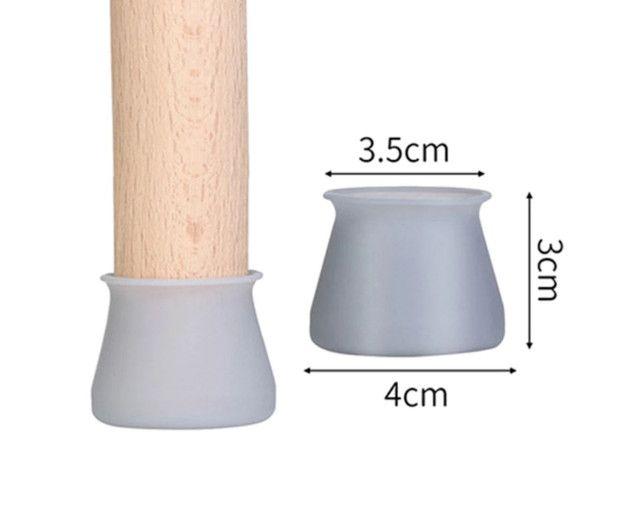 Proteção Pé De Mesa Cadeira Em Silicone Disponível - Foto 2