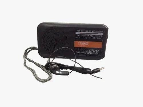 R$59,90 - Rádio Bolso Portátil Am Fm Lelong Le-653 Com Fone De Ouvido