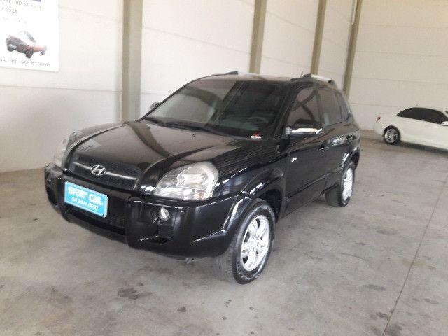 Hyundai tucson gls 2.7 v6 4x4 ano 2007 -automatica - valor: 29.999,99 - Foto 9