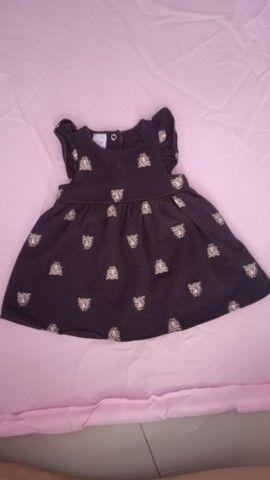 Lote roupa menina (0-6 meses) - Foto 4