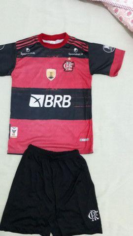 Camisa Flamengo infantil 6 e 12anos  - Foto 2