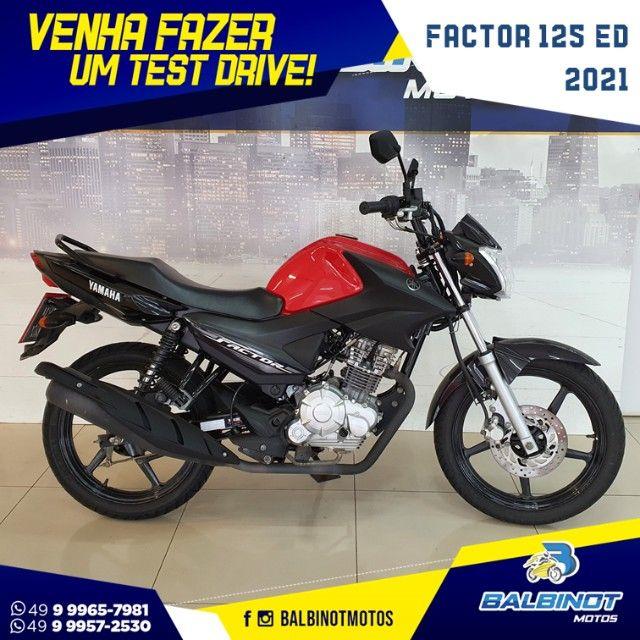 Factor 125 ED 2021 Vermelha