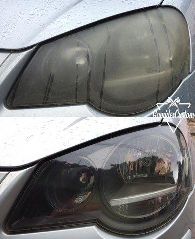 Restauração de faróis e lanternas automotivos com garantia de 1 ano. - Foto 6