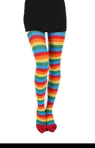 Meia calça colorida - Foto 2
