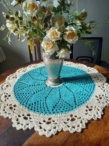 Centros de mesa croche - Foto 5