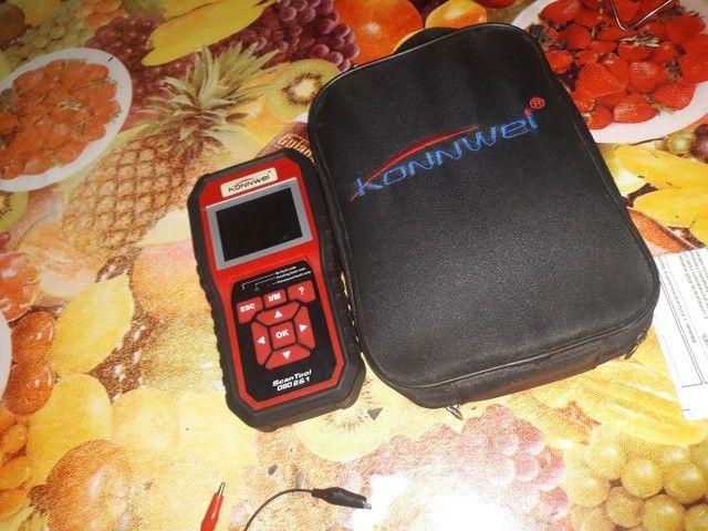 Scanner automotivo linha leve Konnwei KW 850! - Foto 2