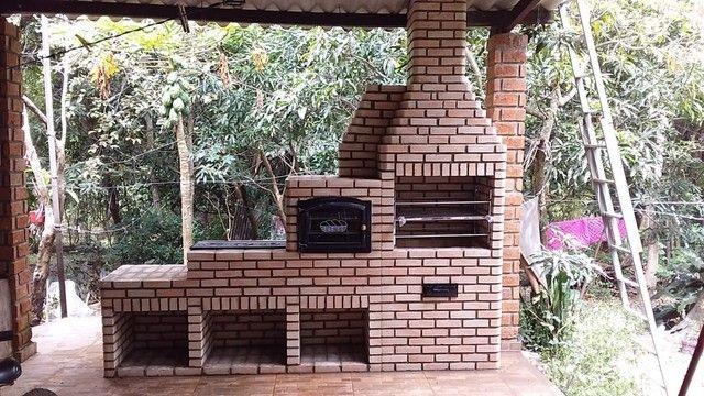 Venha conhecer nosso trabalho....churrasqueiras feitas de tijolinho maciço aparente... - Foto 6