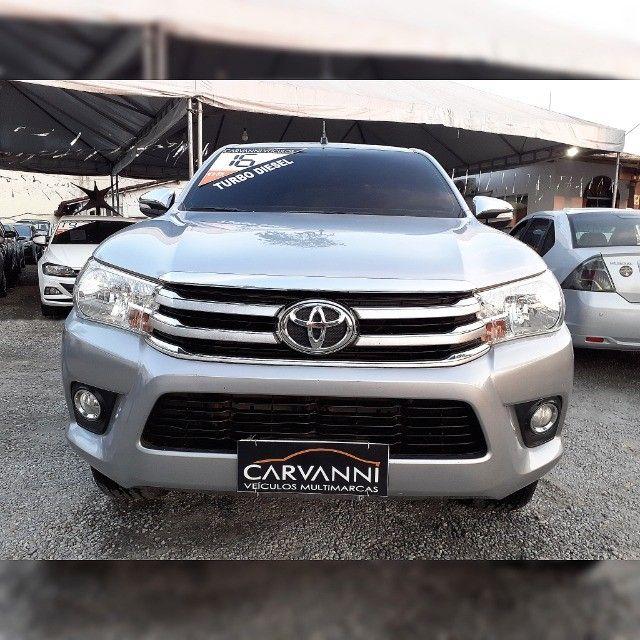 Toyota Hilux Cd Srv Automático 2016 Turbo Diesel  - Foto 3