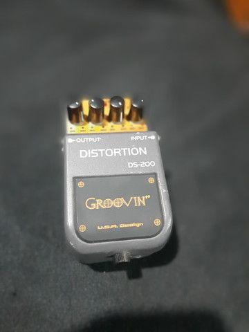 Pedal De Efeito Ds 200 Para Guitarra Groovin Distortion